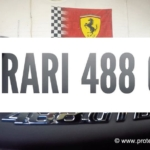 Paint protection film installed on Ferrari 488 GTB – Perth